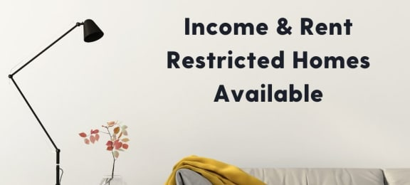 Rent Restricted Homes Available