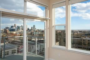 Beautiful city views from 2828 Zuni Apartments - LoHi in Denver