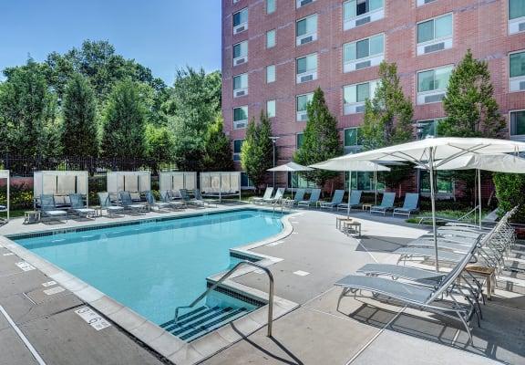 Pool Cabana & Outdoor Entertainment Bar at Windsor at The Gramercy, White Plains, NY