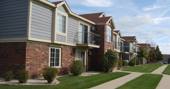 Well-maintained Buildings at Wood Creek Apartments, Kenosha
