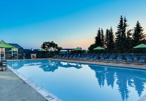 Invigorating Pool at Windsor Village at Waltham, Massachusetts, 02452