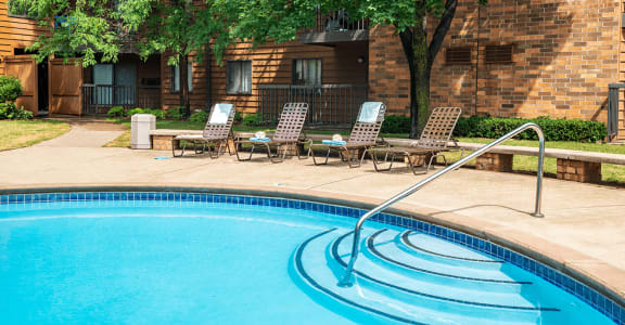 Inviting Outdoor Swimming Pool