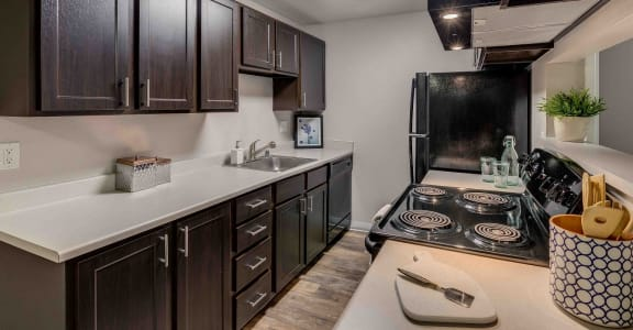 Alderwood Park Apartment Homes Model Kitchen
