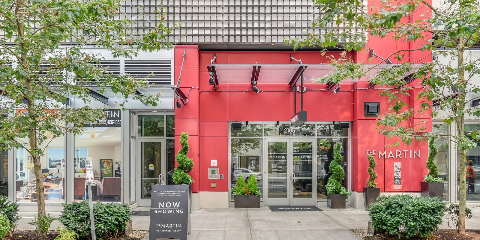 Convenient Mid-Rise Living at The Martin, Seattle, Washington