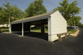 Covered Parking Spaces Available for Rent