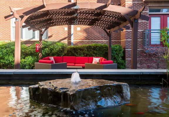 Cabana With Sofa at Oberlin Court, Raleigh, NC, 27605