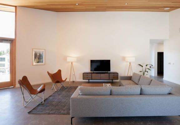 Range Apartments Living Room