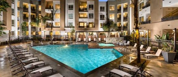 One11_Corona CA_Community Resort Style Pool