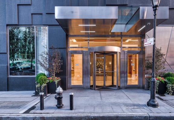 Entry at The Ashley Apartments, New York, New York