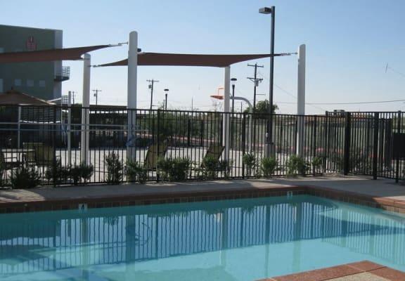 Pool & pool patio at Grandfamilies Place in Phoenix, AZ