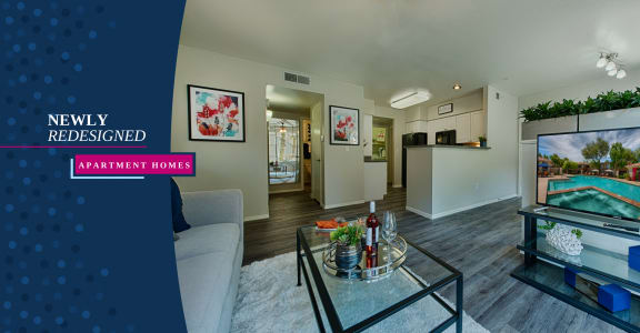 Vista Grove apartment unit with modern furniture interior
