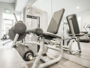 Gym with Weight Machine Apartments in San Mateo| Mode Apartments
