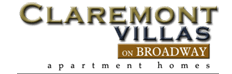Claremont Villas Apartments logo in Tucson, AZ