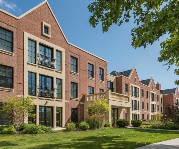 Exterior of sidewalk view - Kelmscott Park Apartments