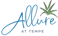 allure at tempe logo with white background