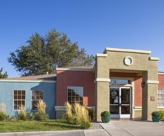 leasing office at Aspen Ridge in Albuquerque New Mexico October 2020