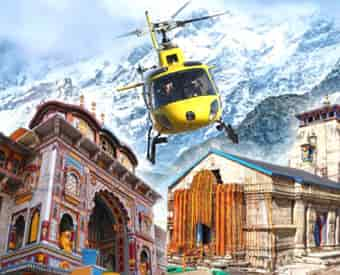 Badrinath - Kedarnath by Helicopter