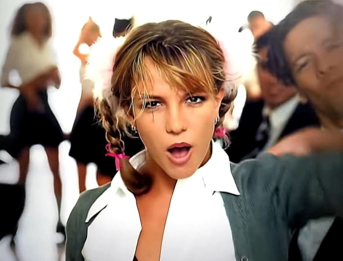 """Britney Spears """"...Baby One More Time"""" (1998)"""