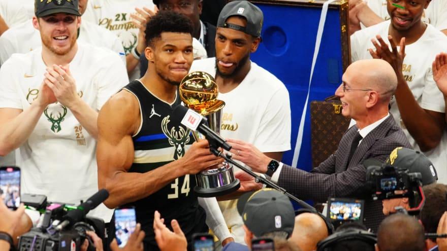Bucks win 2021 NBA title; Giannis named Finals MVP ...