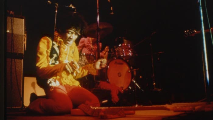 """""""All along the watchtower,"""" Jimi Hendrix (1968)"""
