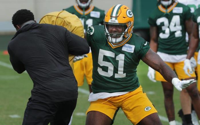 Green Bay Packers: Krys Barnes