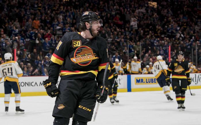 Forward: Zack MacEwen (Vancouver Canucks)
