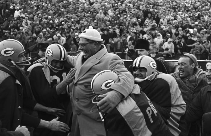 Vince Lombardi reconstructs Titletown