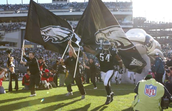 Jeremiah Trotter, Philadelphia Eagles