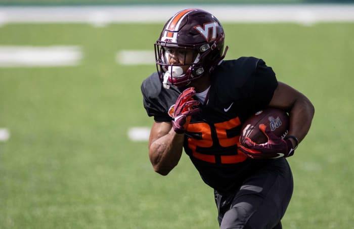 Khalil Herbert, RB, Virginia Tech