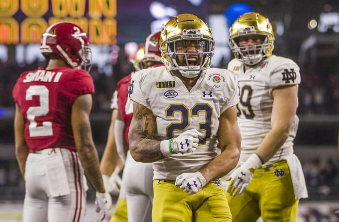 No. 9 Notre Dame at Florida State, Sunday, 7:30 p.m., ABC