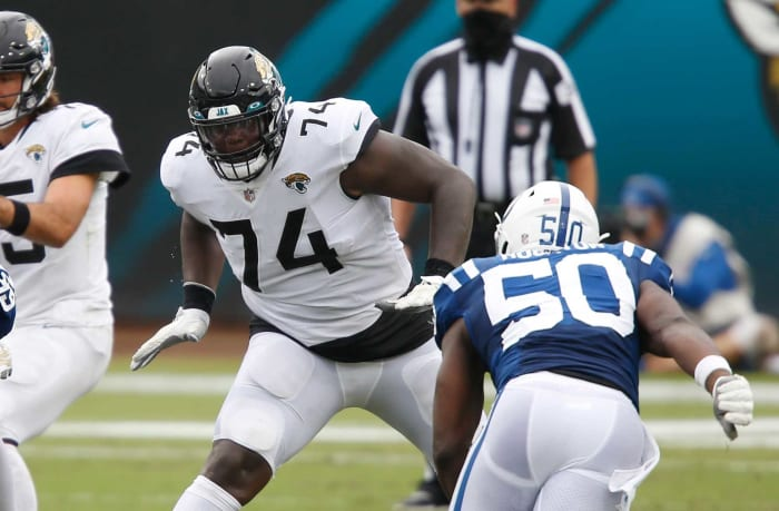 Overpaid offensive tackles: Cam Robinson, Jaguars