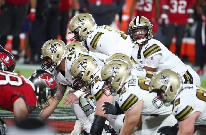 Saints quarterback battle