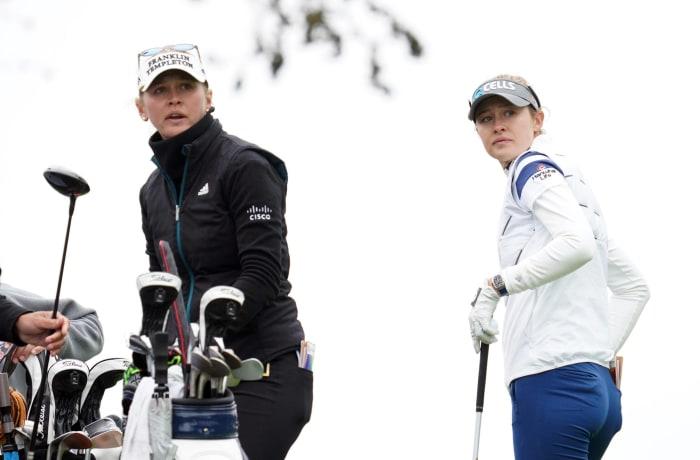 Jessica and Nelly Korda (women's golf)