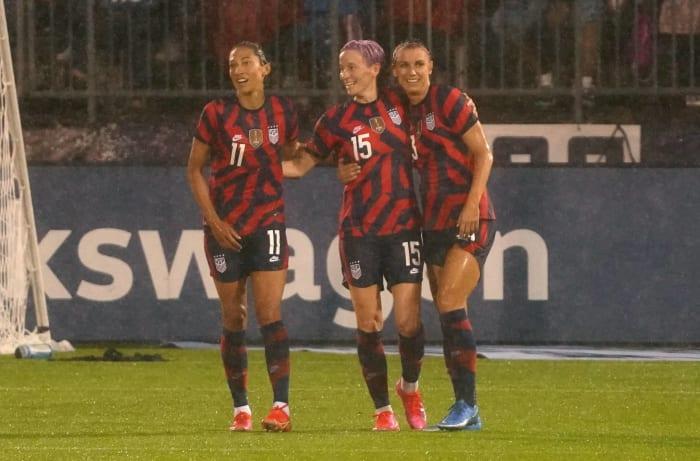 Women's soccer: United States vs. Japan