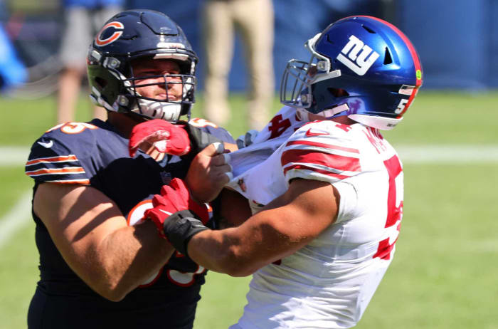 Chicago Bears Weakness: Offensive Line