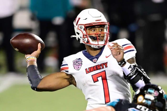 Carolina Panthers: Malik Willis, QB, Liberty