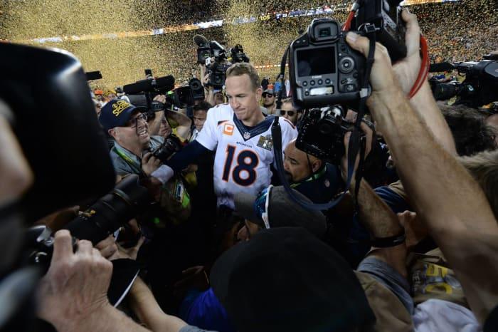 Peyton's final season ends with a Super Bowl