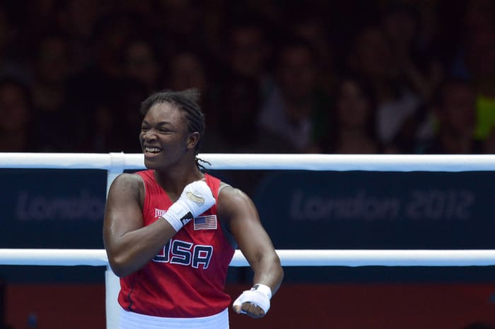 Teen Shields golden in women's boxing debut (2012)
