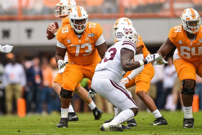 Tennessee Titans: Trey Smith, OG, Tennessee