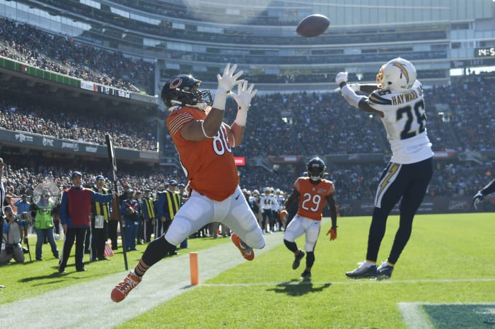 Chicago Bears, tight end