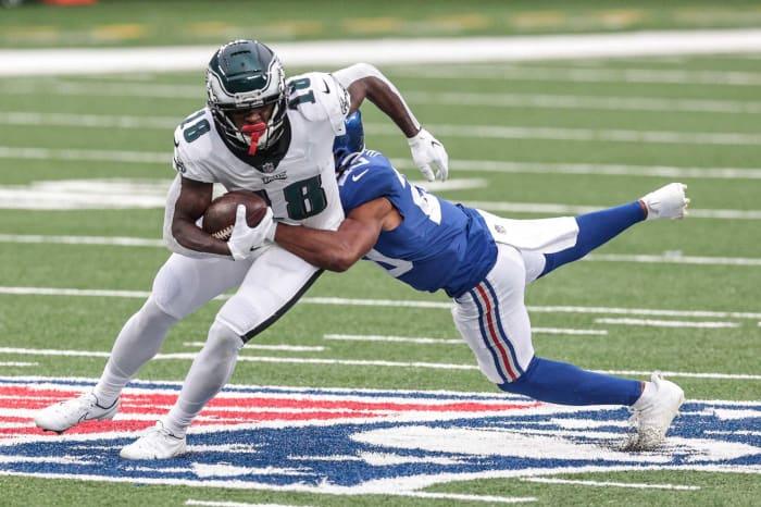 Philadelphia Eagles: WR, LB, DB, QB