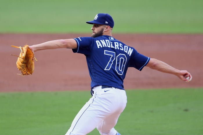 Nick Anderson, Rays