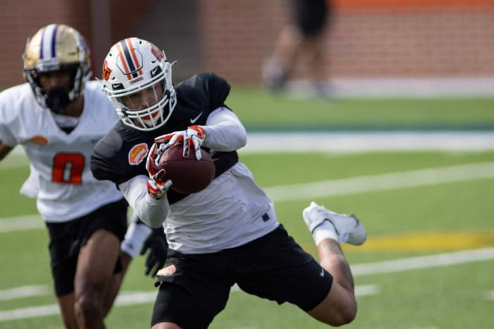 Tampa Bay Buccaneers: Tylan Wallace, WR, Oklahoma State