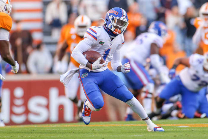 Florida WR Kadarius Toney | Comp: Curtis Samuel