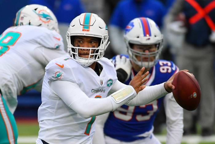 Miami Dolphins: RB, WR, LB, OL