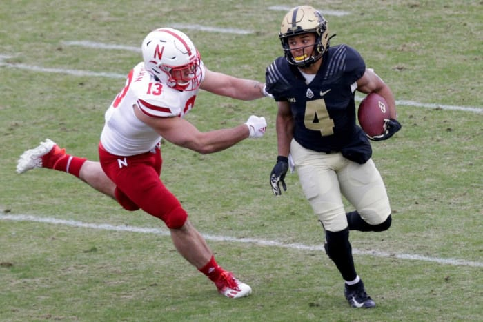 Tennessee Titans: Rondale Moore, WR, Purdue
