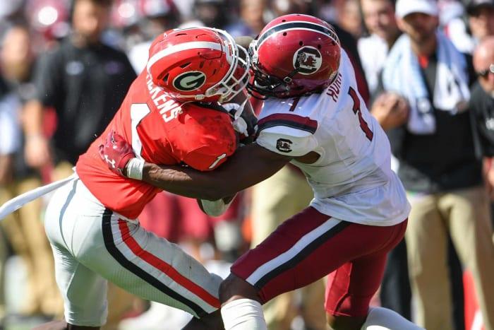 No. 8   Panthers: South Carolina CB Jaycee Horn
