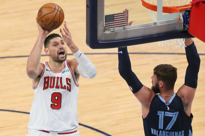 Nikola Vucevic, Orlando Magic/Chicago Bulls