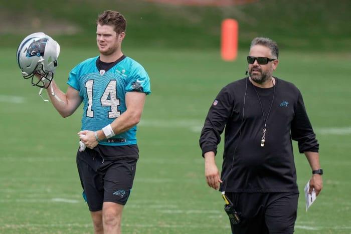 Matt Rhule, Panthers