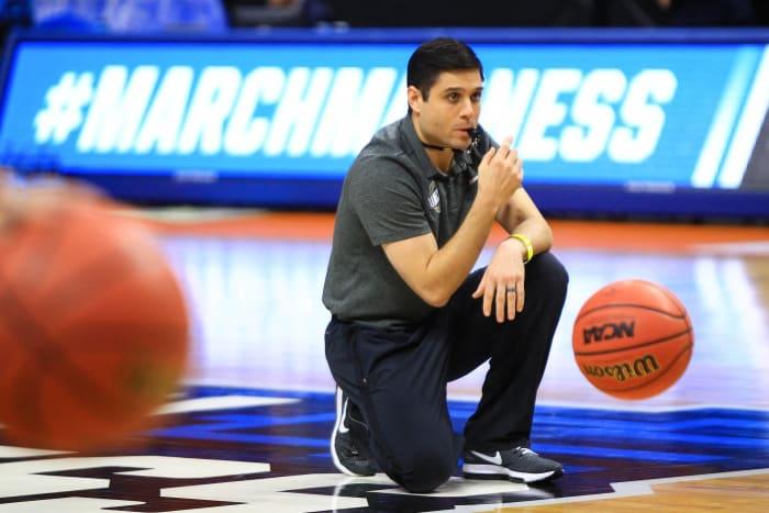 Wes Miller, UNC Greensboro head coach